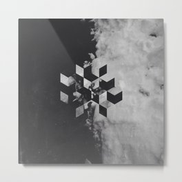 Pattern Drop I Metal Print