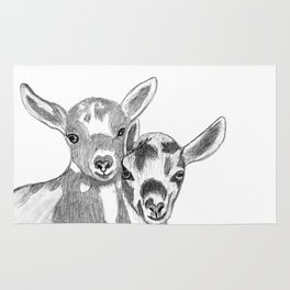 goats Rug
