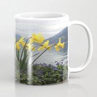 switzerland Mugs featuring Switzerland by NatalieBoBatalie