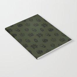 Little Monsters (green) Notebook