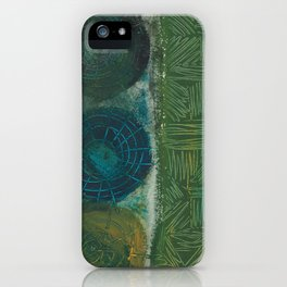 Rustic charm iPhone Case