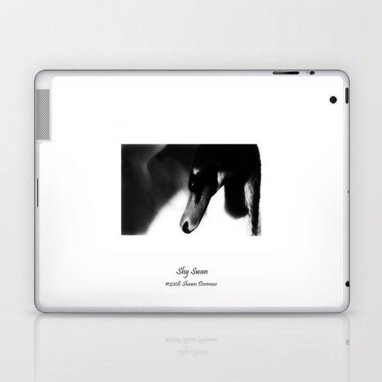 Shy Swan Laptop & iPad Skin