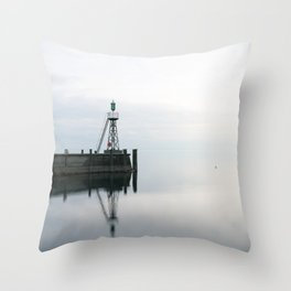Rorschach Harbor III Throw Pillow
