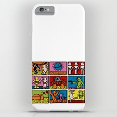 Haring - étoiles W. iPhone 6s Plus Slim Case