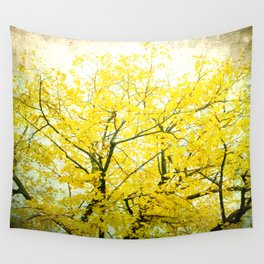 Yellow Splendor Wall Tapestry