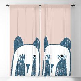 No peeking panda Blackout Curtain