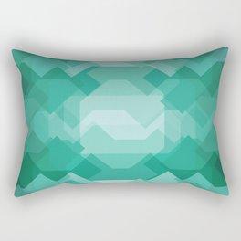 Emerald gem stone Rectangular Pillow