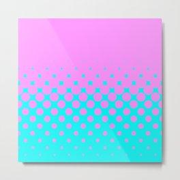 Pink to Blue Metal Print