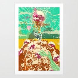 CYBER FUTURE Art Print