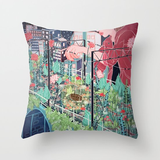 Viaduct Throw Pillow