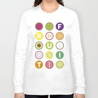 fruit Long Sleeve T-shirts featuring Fruit by veronica's site