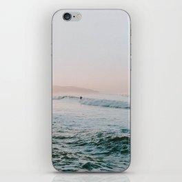 summer waves iPhone Skin