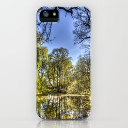 The Willow Tree Pond iPhone Case