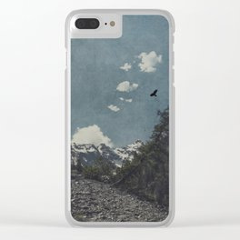 Hike a Mountain! Clear iPhone Case