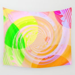Re-Created Twisters No. 9 by Robert S. Lee Wall Tapestry