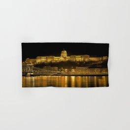 Budapest Golden Night Hand & Bath Towel