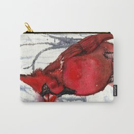Red Cardinal Spirit Singer II Carry-All Pouch