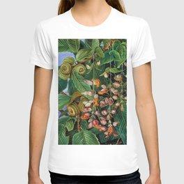 A Dar-jeeling Oak Festooned with Flowering Climbers still life painting T-shirt