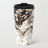 Bronze Abstract Travel Mug