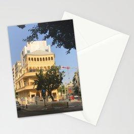 Tel Aviv Pagoda House - Israel Stationery Cards