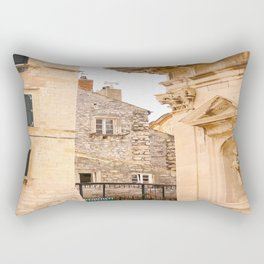 Terrace in Old Town Europe #decor #society6 Rectangular Pillow