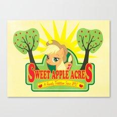 Sweet Apple Acres Canvas Print