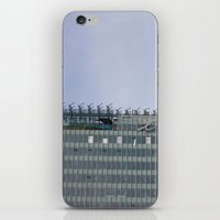 building iPhone & iPod Skins featuring Building by RMK Photography