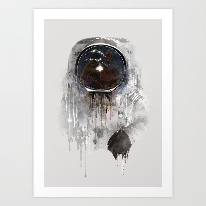 Astronaut Art Print By Taylordaniel Society6