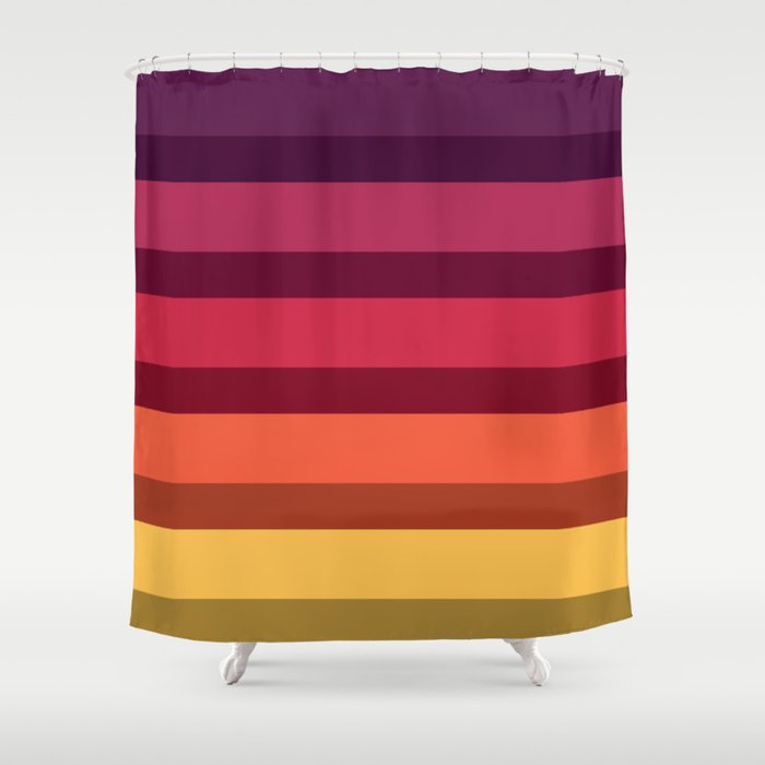 Accordion Fold Series Style A Shower Curtain By Starflyer