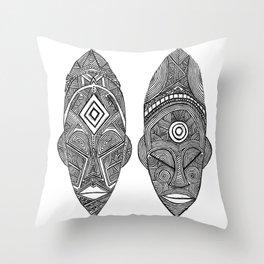 """The Sovereign  """"Malia & Khari"""" Throw Pillow"""