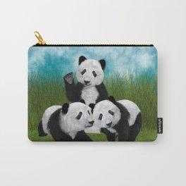 Panda Bear Cubs Love Carry-All Pouch