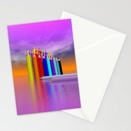time to draw a picture -3- Stationery Cards