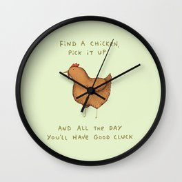 Good Cluck Wall Clock