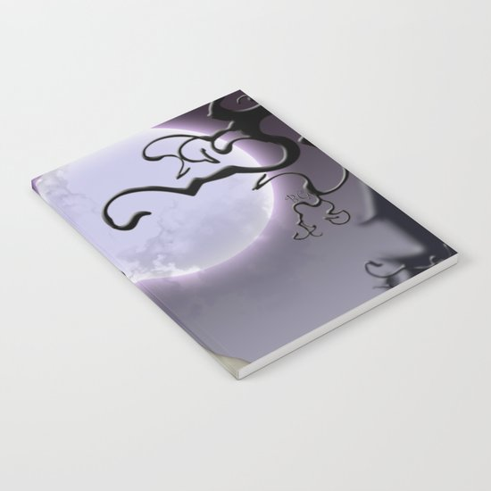 Halloween love Notebook