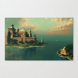 Mystic Fantasy Island Canvas Print