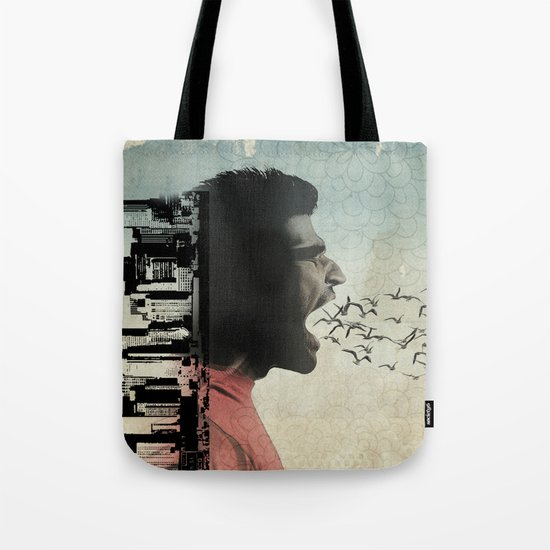 the sound of birds Tote Bag