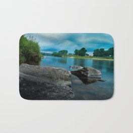 River Landscape Photography - The Banks of the Tay, Scotland Bath Mat