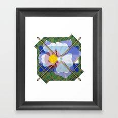 Altered State Flower: CO Framed Art Print