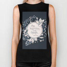 It has always been forever for me Sassenach. Jamie Fraser Biker Tank
