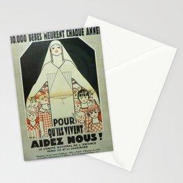 Vintage poster - Musee des Instruments de Medecine Stationery Cards