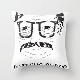 Lurking Class Throw Pillow
