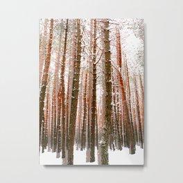 Towering Metal Print