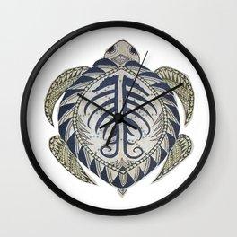 Sea Turtle cutout Wall Clock