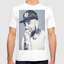 Mac Miller Spray Painting T-shirt