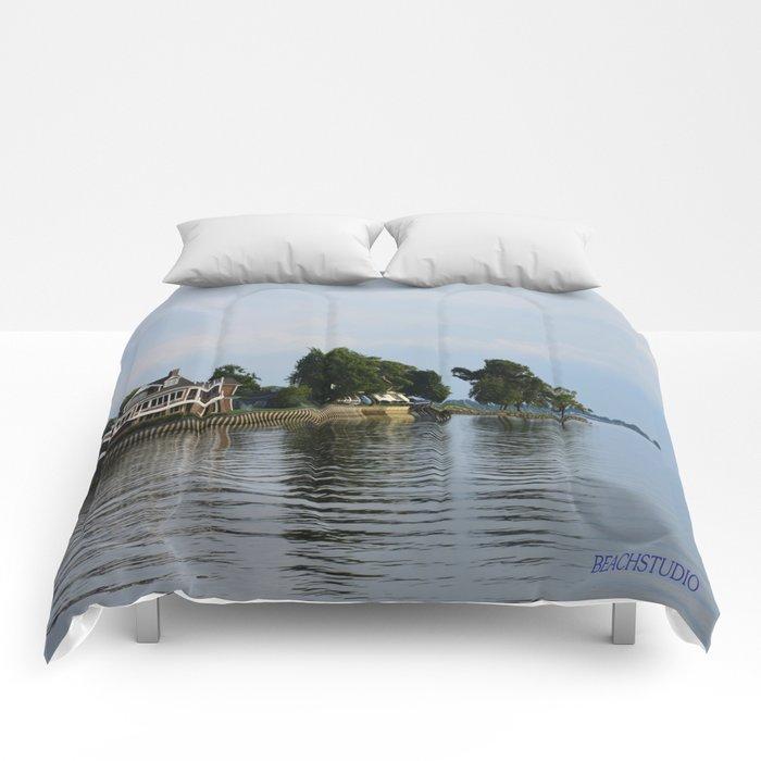 Crooked Boathouse Comforters