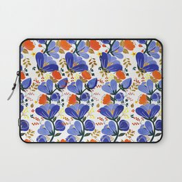folk spring flowers no2 Laptop Sleeve