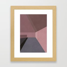 The Light at the End of the Tunnel Framed Art Print