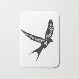 On the wings of Freedom Bath Mat