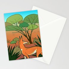 Ethiopian Wolf Stationery Cards
