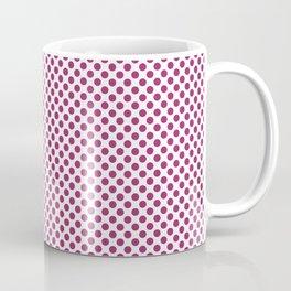 Festival Fuchsia Polka Dots Coffee Mug